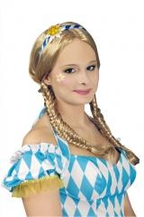 Edelweiß Haarreif Oktoberfest Trachtenhut Trachtenschmuck