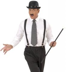 Gepunktete Krawatte Rockn Roll Teddyboy Mafiosi Gangster-Boss
