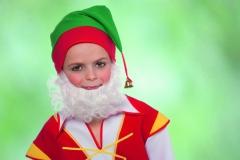 Zwerg Gnom Wichtel Bart Fasching Karneval Mottoparty