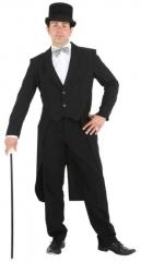 Herrenfrack Frack Chaplin schwarz Showtime Karneval Kostümparty