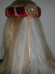 Jungfernkranz Haarband Schleierkranz Mittelalter Historisch Larp