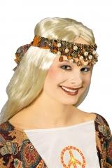 Hippiestirnband Hippie Ibiza Stirnband 70er Jahre Sommertuch