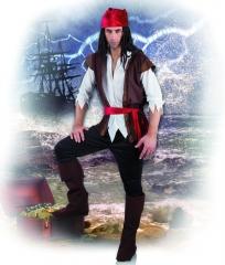 Pirat Seeräuber Herrenpirat Pirat Jack Karneval Fasching 50 52 54 56