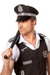 Poilizeimütze Polizei schwarz Police