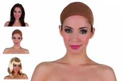 Haarnetz für Perücken Unterziehhaube Karneval Faschingsparty