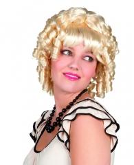 Mae Faschingsperücke Westernperücke Damenperücke gelockt blond Lockenp