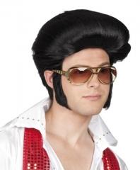 Elvis Perücke 70er Jahre Rock´n Roll Schlager Themen Mottoparty