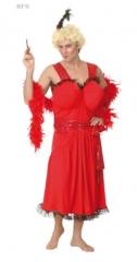 Junggesellenabschied Partydame Karneval Fasching Kostüm