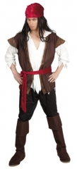 Pirat Seeräuber Thunder Karibik Kostüm XL Karneval Fasching