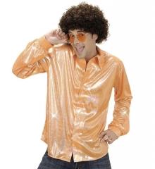 Partyhemd Glitter 70er Jahre Mottoparty Saturday Night