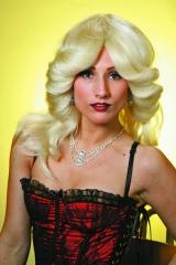 Blonde 80er Jahre Perücke Karneval Fasching Kostüm