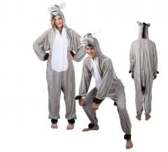 Esel Eselkostüm Donkey Overall Junggesellenabschied Tierkostüm