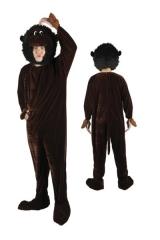 Affe Monkey Kostüm Dschungel Maskottchen Einheitsgröße XL