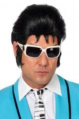 Teddy Boy Perücke Elvis 60er 70er Jahre Schmalzlocke Rock´n Roll