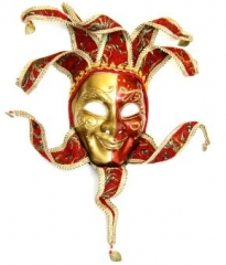 Maske Venedig Mann Maskenball Fasching Karneval