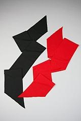 Schärpe Kummerbund rot passend zu vielen Themen oder Kostümen