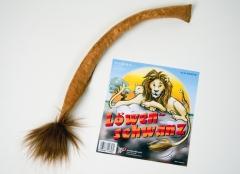 Löwenschwanz braun Tierkostüm Accessoires Karneval