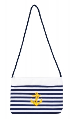 Matrosin Seemannfrau Navy Girl Matrosenhandtasche