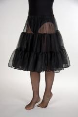 Petticoat Unterrock schwarz oder weiß Universalgröße