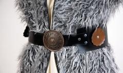Wikingergürtel mit Metallschnalle Zubehör Kostümzubehör Schäfer
