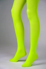 Blickdichte Strumpfhose grün Fasching Zubehör Karnevalsparty Mottopart