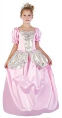 Prinzessin Kleid rosa mit Petticoat 4-6 Jahre