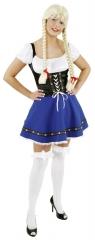 Dirndl Wiesn Out Fit Trachtenkleid in 3 Farben Oktoberfest Damentracht