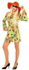 70er 80er Jahre Partykleid Hippie Karneval Fasching