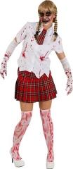 Blutige Handschuhe Halloween Blutkleidung Zombie Monster Horror