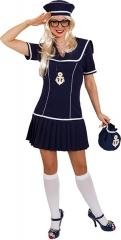 Seefrau dunkelblau Matrosin Seefahrerin Navy Lady Matrosendame