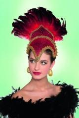 Tänzerin Brazilia Kopfbedeckung Kopfschmuck Brasilianerin Samba Zubehö