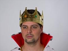 Königskrone für Erwachsene Kopfschmuck Krone Prinz Regent König