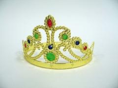 Krone Diadem Prinzessin Karneval Fasching Kostüm Party