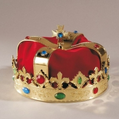 Königskrone Krone Prinz Karneval Fasching Kostüm