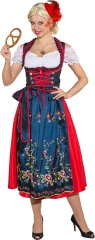 Dirndl Trachtenkleid (Kleid gefüttert,Schürze,Bluse) auch Übergröße 52
