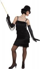 Fransenkleid 20er Jahre Charlestonkleid Partykleid Edeldame