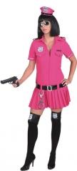 Police Girl Faschingskostüm Mottoparty Polizistin Karneval Fastnacht