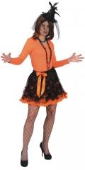 Pettiskirt Totenkopf Gothic Halloween Fasching Kostümfest Mottoparty