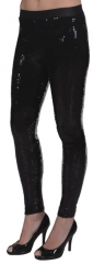Paillettenleggings Partyleggings Glitzer Leggings Karneval Fasching