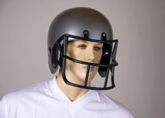 Football Helm Footballspieler Kostümzubehör Kopfschutz