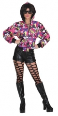Jacke Cool Damenjacke Hippiejacke 70er Jahre Party Faschingsjacke