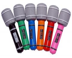 Aufblasbares Mikrofon Zubehör Auftritt Bühnenzubehör Mikro