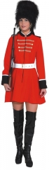 Soldatin Tommy Gardistin Garde Gardeuniform Zirkuskostüm