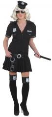 Police Girl Damenverkleidung Faschingskostüm Mottoparty Kostümfest