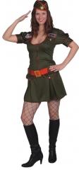 Military Girl Bundeswehr Armygirl Damenkostüm Verkleidung Mottoparty