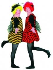 Biene Marienkäfer Kostüm Karneval Fasching Party