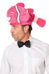 Fischhut Clownfisch Unterwasserwelt orange oder pink Karneval Party