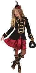 Piratin Piratinkostüm Rock + Jacke Steampunk 34/36 38/40 42/44