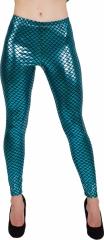 Leggings Partyhose Damenleggings Fischschuppen oder Schlangenmuster