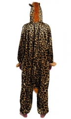 Giraffenkostüm Tierkostüm Plüschkostüm für Kinder Tieroverall